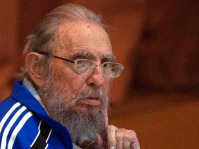 Fidel Castro gives rare speech saying he's nearing the end