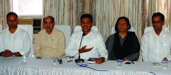 भाजपा की बैठक का आयोजन