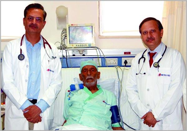 मैट्रो अस्पताल के डाक्टरों ने बदला 90 वर्षीय ईराकी मरीज के हृदय का वाल्व