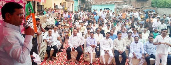 भाजपा सरकार सभी वर्गाे के विकास के लिए पूरी तरह से कृतसंकल्पित:राजेश नागर