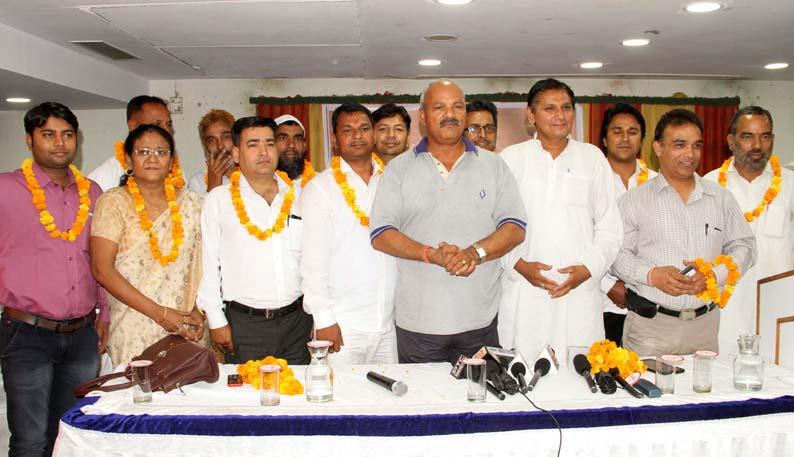 राष्ट्रीय लोक स्वराज पार्टी कार्यकारिणी का गठन