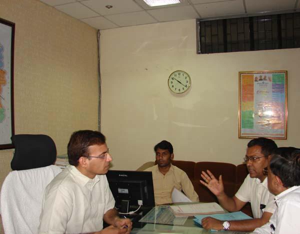 एसडीएम ने किया बैठक का आयोजन