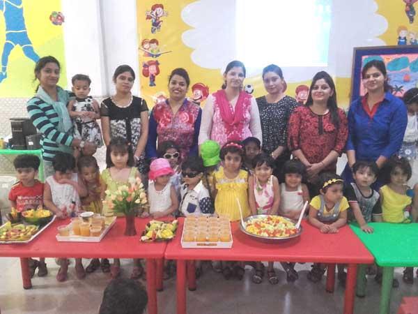 विद्यासागर इंटरनेशनल स्कूल में बच्चों ने इंज्वाय की समर पार्टी