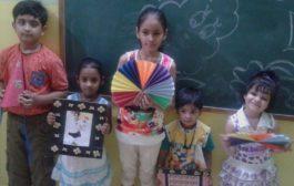 विद्यासागर इंटरनेशनल स्कूल में आयोजित समर कैंप में बच्चे सीख रहे हैं गुण