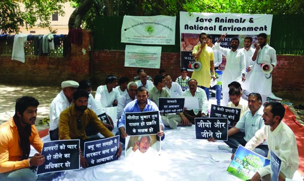 बिहार के मुख्यमंत्री दे इस्तीफा:बलजीत बिश्राई