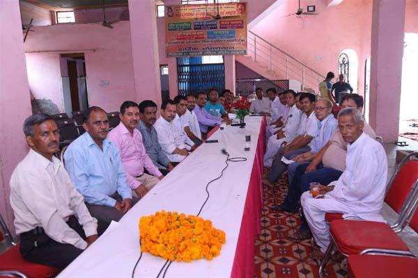 खाटली समाजिक विकास मंडल ने किया आम बैठक का आयोजन
