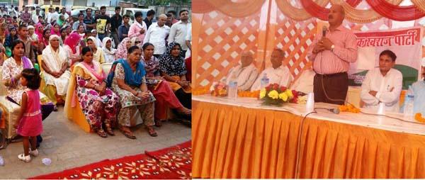 सरकार की फूट डालो राज करो की नीति से जला हरियाणा : रणवीर शर्मा