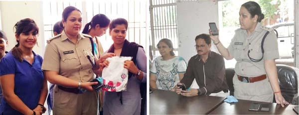 एसीपी पूजा डाबला ने किया जागरूकता अभियान का आयोजन
