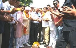 कैबिनेट मंत्री विपुल गोयल ने  कियाआरएमसी रोड का किया शुभारंभ