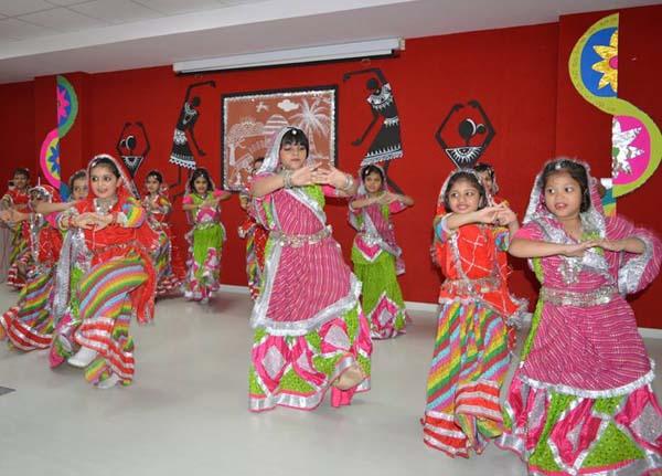 Teej celebration was held at SRS International School