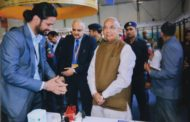 Governor Haryana Kaptan Singh Solanki came visiting the Manav Rachna Booth at IITF