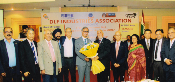 DLF Industries Association honours Rotary District Governor