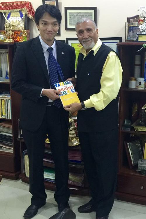 जापानी प्रतिनिधिमंडल ने किया भारतीय वाल्व का दौरा: जे पी मल्होत्रा