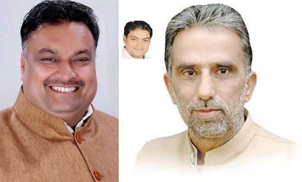 चाचा भतीजे की जोडी  के समक्ष केन्द्रीय मंत्री की प्रतिष्ठा