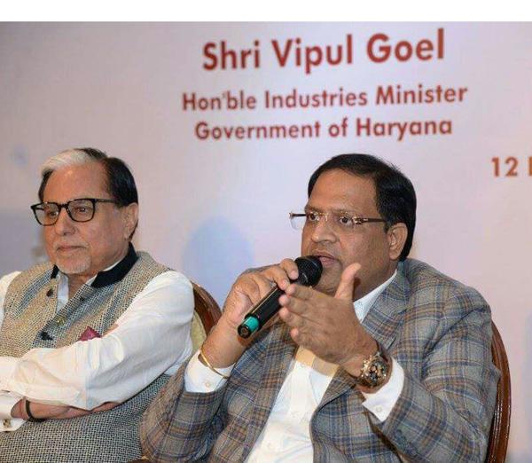 हरियाणा के केबिनट मंत्री मुंबई में
