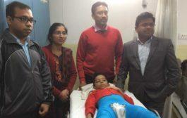 एशियन अस्पताल के डॉक्टरों ने किया कूल्हों का सफल ऑपरेशन