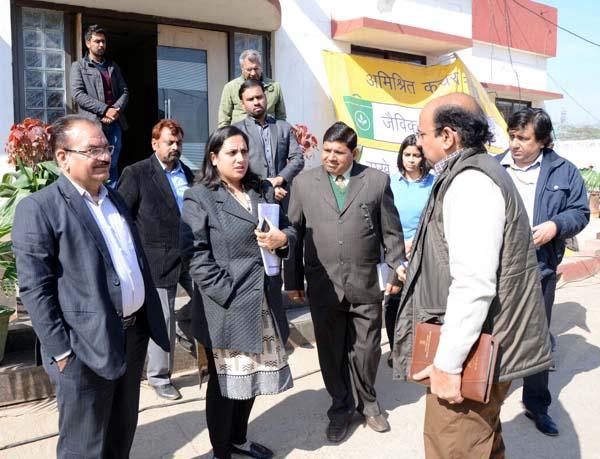 शहरी विकास मंत्रालय टीम ने की नगर निगम प्रयासों  की सराहना