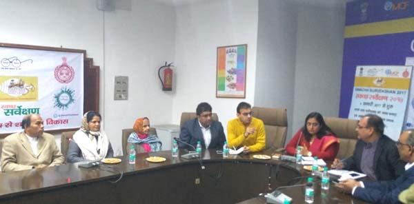 नगर निगम आयुक्त ने किया बैठक को सम्बोधित