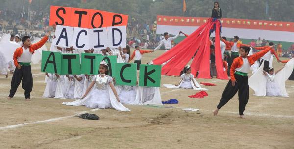 विद्यासागर इंटरनेशनल स्कूल के छात्रों ने गणतंत्र दिवस पर दिया समाज को संदेश