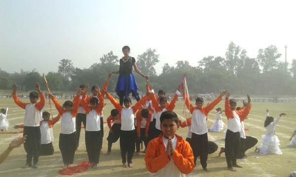 विद्यासागर इंटरनेशनल स्कूल के छात्रों की शानदार प्रस्तुति