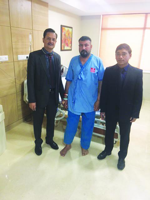 मेट्रो अस्पताल ने किया 3डी तकनीक द्वारा सफल आप्रेशन