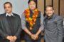 जगन डागर ने किया सांसद दीपेन्द्र का स्वागत