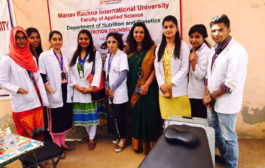 Free health camp in manav rachna