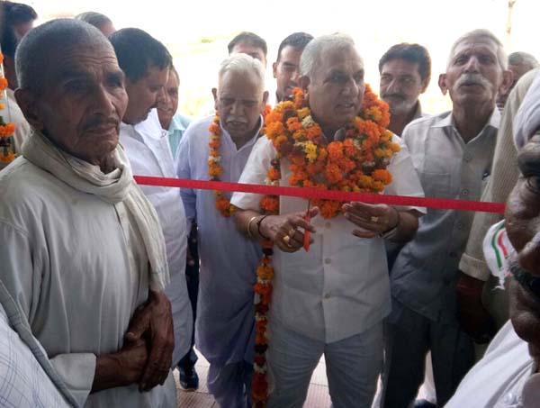 भाजपा नेता रूप सिंह नागर  ने किया उद्घाटन