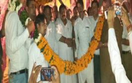 मंत्री विपुल गोयल ने किया परशुराम भवन का शिलान्यास