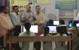 Brand New computers donated and organised by Rotary Club of Faridabad