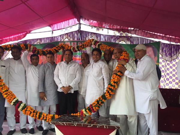 उद्योग मंत्री विपुल गोयल ने बुढ़ना गांव को दी करोड़ों के विकास कार्यों की सौगात