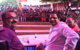 उद्योग मंत्री विपुल गोयल ने किया बेटियों के लिए रोजगार मेले का उद्घाटन