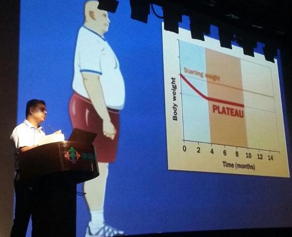 एशियन अस्पताल  में मोटापे  पर सार्वजनिक काउंसलिंग का आयोजन
