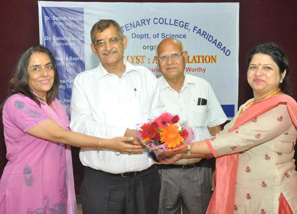 डीएवी शताब्दी कॉलेज में इंडशन कार्यक्रम का आयोजन