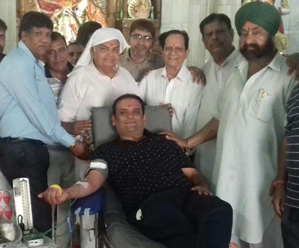 महारानी वैष्णोदेवी मंदिर में आयोजित रक्तदान शिविर में  110 यूनिट एकत्रित