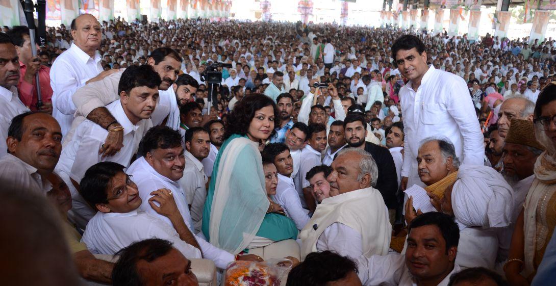 'किसान-मजदूर पंचायत' की सफलता से प्रदेश में शुरु होगी सत्ता परिवर्तन की लहर : भूपेंद्र सिंह हुड्डा