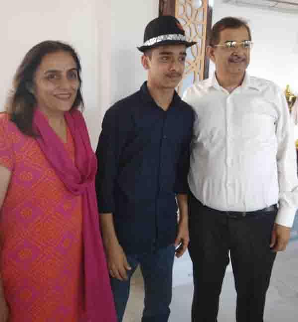 डीएवी कॉलेज ने बढाया छात्र का हौसला