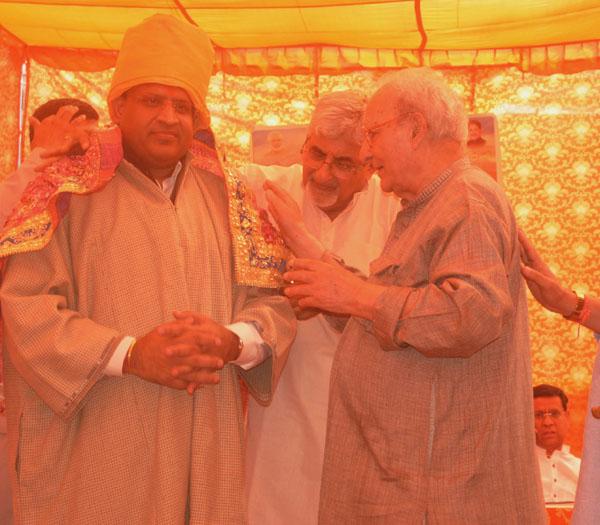 उद्योग मंत्री विपुल गोयल ने किया लिंक रोड निमार्ण का शुभारंभ