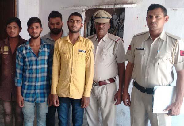 एसीपी राजेश चेची के नेतृत्व में पकडे गए एटीम चोर