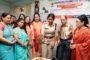 डीसीपी आस्था मोदी ने दी छात्राओं को शुभकामनाए