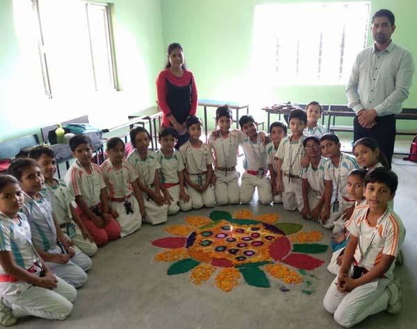 विद्यासागर इंटरनेशनल स्कूल में हुआ राष्ट्रीय एकता दिवस का आयोजन