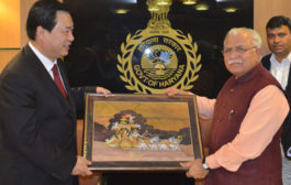 China has evinced keen interest in investing in Haryana