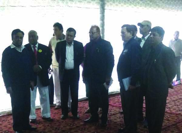 Dc Atul kumar visit Huda Conversion Centre