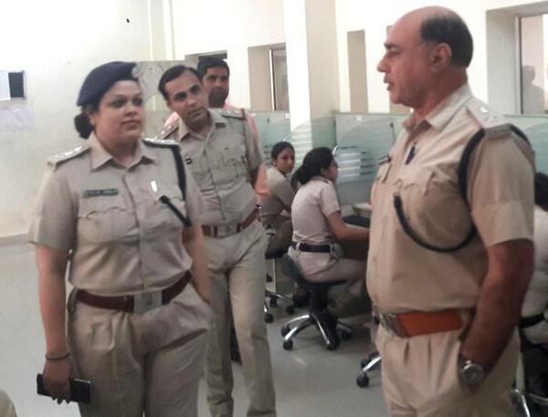 पुलिस  परीक्षा का बी-1 का सफल आयोजन