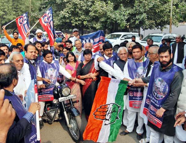 भाजपा मुक्त-कांग्रेस युक्त का नारा ही दूर कर सकता है देश से बेरोजगारी : अशोक तंवर