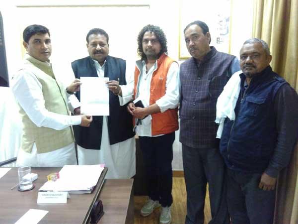 साहुपुरा-बल्लभगढ़ चौक का नाम शहीद चन्द्रशेखर आजाद के नाम पर रखने की मांग