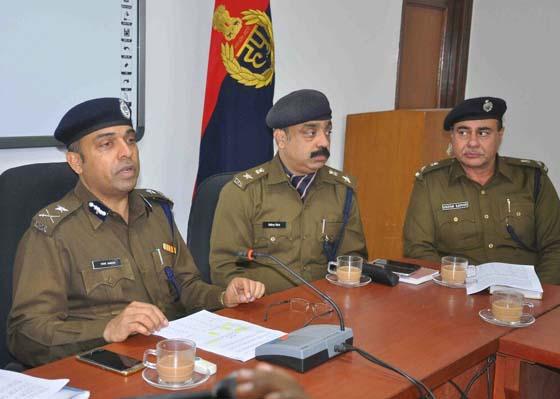 पुलिस ने किया उपलब्धियों एवं अपराध का वार्षिक लेखा जोखा प्रस्तुत