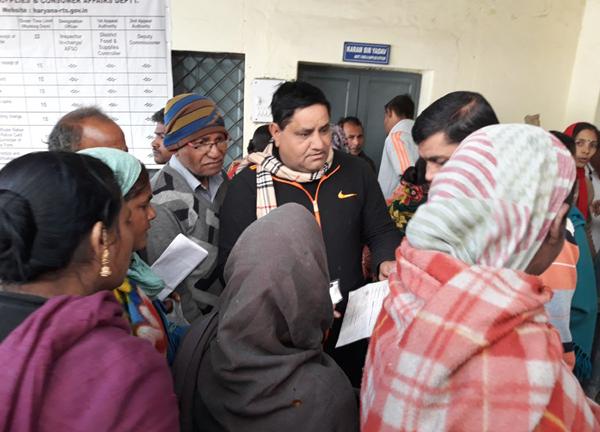 भाजपा सरकार को गरीबों की चिंता नहीं : धर्मबीर भड़ाना