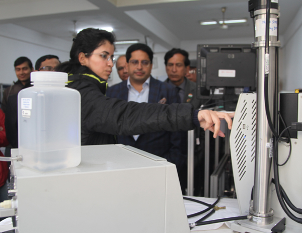 मानव रचना कैंपस में 'Air Quality Monitoring Lab' की शुरुआत