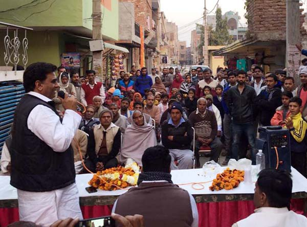 भाजपा नेता ही खोल रहे है सरकार के विकास की कलई : ललित नागर